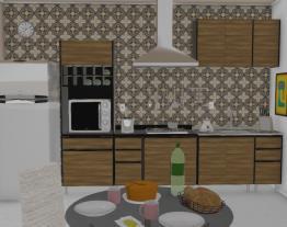 Cozinha Mali pequena R$ 1.613,80