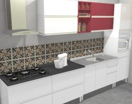 Cozinha Clarice Vermelha