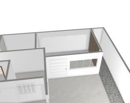planta casa cozinha  frente e sala visita 2