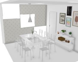 projeto sala de jantar