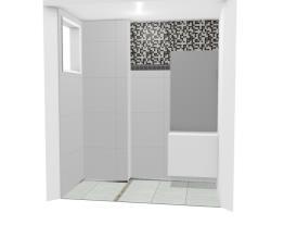 Banheiro suíte sem formação de quadro