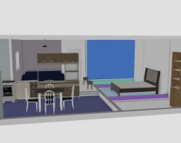 quarto,sala,cozinha e banheiro