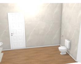 banheiro, salao