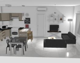 Meu projeto Sala-Cozinha Henn