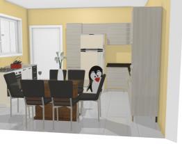cozinha  de Alberto