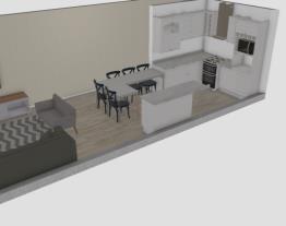 cozinha J mesa L sofa B laranja