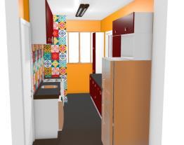 Cozinha e Área de Serviço - Vera