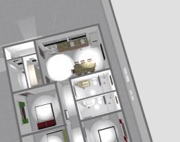 casa 3 armario quarto e porta fundos