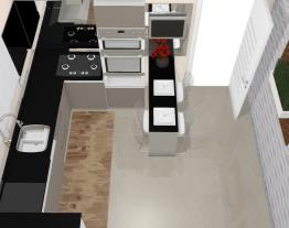 Cozinha pequena - Graziela Lara