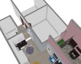 Sala e Cozinha Geladeira 425L