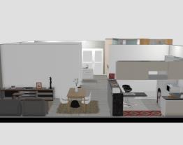 Apartamento 100m² com dois quartos