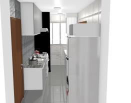 Cozinha e Área de Serviço - Jacira
