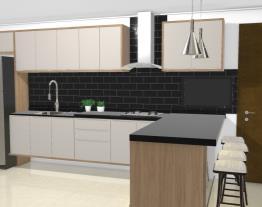 cozinha forno lateral