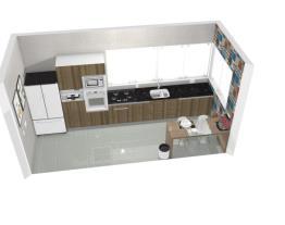 Projeto cozinha de apartamento