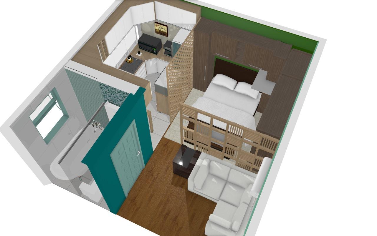 Apartamento 25 m2