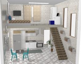 casa pequena dois andares