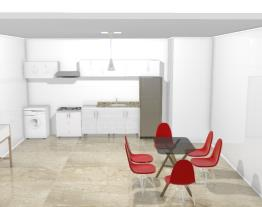 Meu projeto Politorno cozinha sala de jantar