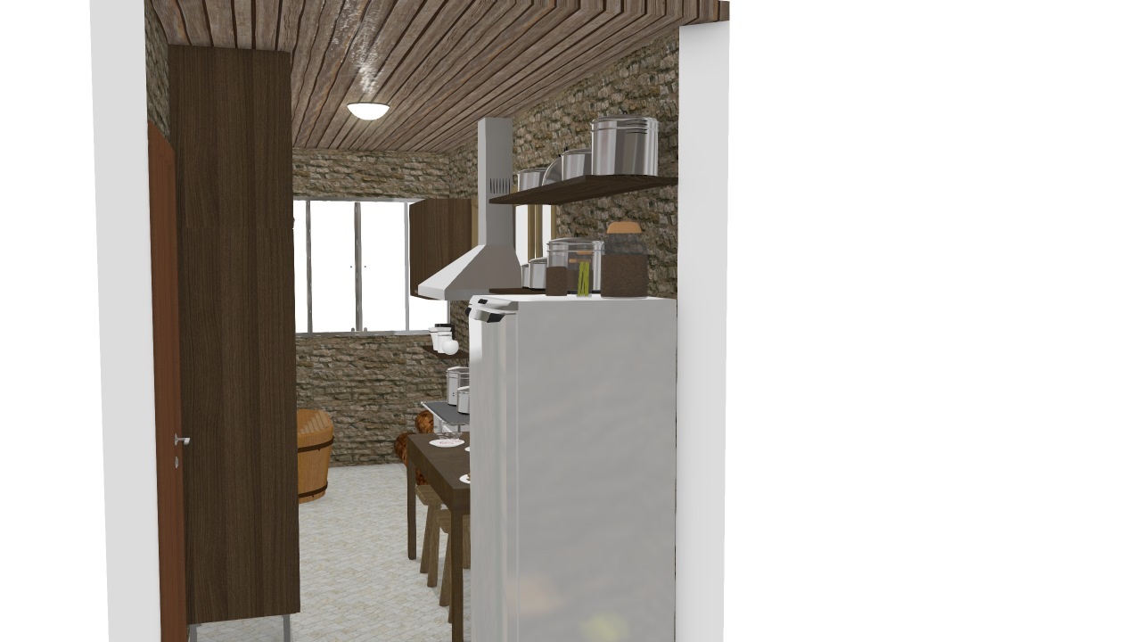 Cozinha e Área de Serviço - Nicolo