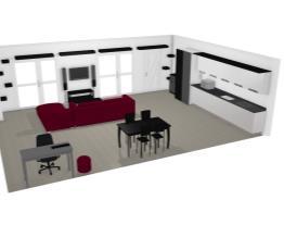 Sala/cozinha 49m2