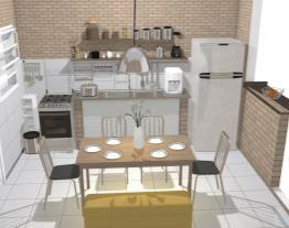 Cozinha da casa da roça