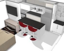 Sala cozinha Cyan