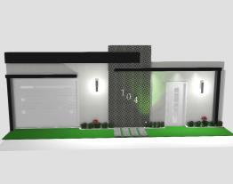 projeto fachada casa