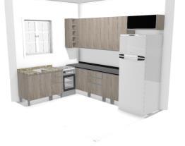 Projeto Casa Suzi - Cozinha