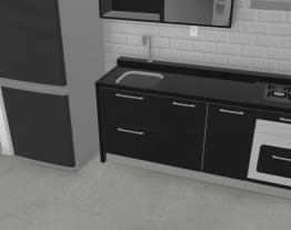 YLS cozinha CasaMob com bancada granito