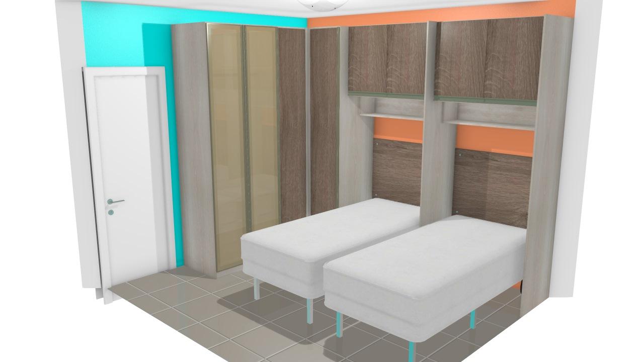 Móveis EDARE quarto de poliana selio