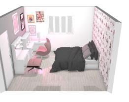 quarto menina adolecente