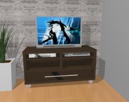 Rack para tv/ balcão com rodízios - 1205/A - Quiditá