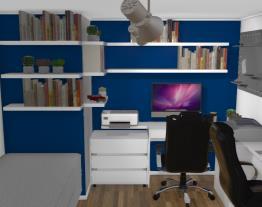 Transformando quarto em escritorio
