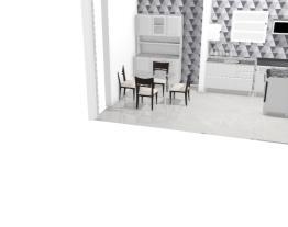 projeto cozinha + copa mesa