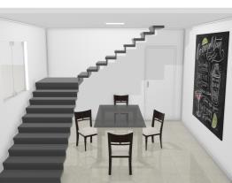 sala da escada