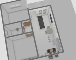 Sala e cozinha editando