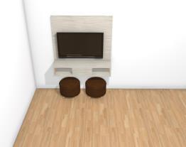 Sala pequena inacabado